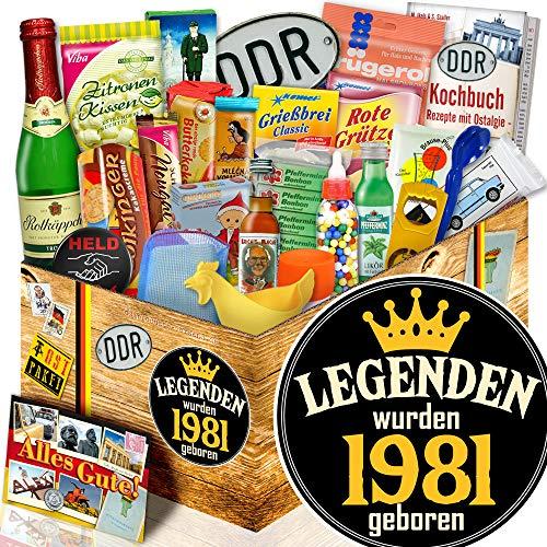 Legenden 1981 + 24x Allerlei DDR + Geschenk für Mann zum Geburtstag