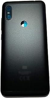phone case Batteriladdning Bakglas Reparation Fit For Xiaomi RedMi Note 6 Pro Batteri Back Cover Housed Door Case (Color :...