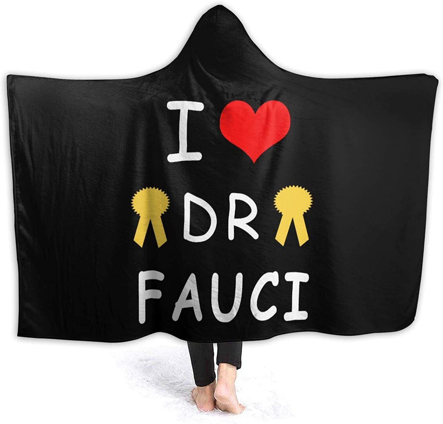I Love Dr Fauci 5 ☆ popular Max 86% OFF Wearable Throw Blanket Sofa Stylish for