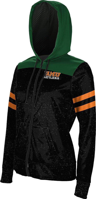 ProSphere Florida A&M University Girls' Zipper Hoodie, School Spirit Sweatshirt (Gameday)