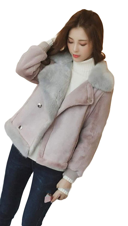 MLbossレディース ジャケット 裏起毛 ショートコート ライダースジャケット ふわふわ あったか 防寒着 冬 アウター