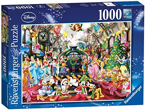 Ravensburger Puzzle, Puzzles 1000 Piezas, Navidad Disney, Puzzle Disney, Puzzles para Adultos, Puzzle Ravensburger