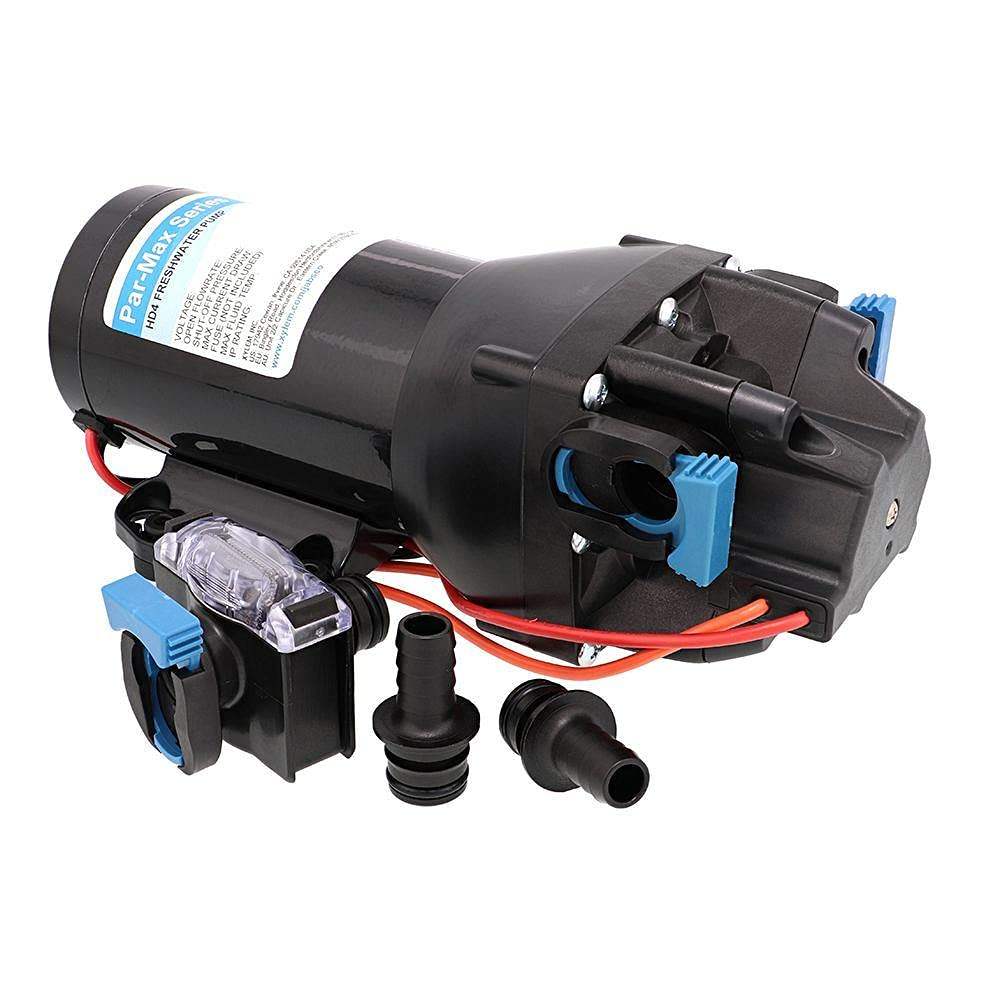 Jabsco ParMax HD4-12V Super sale 4GPM 60PSI Delivery Heavy Freshwater Duty Trust