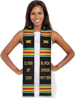 Black Grads Matter 2019 or 2020 Kente Stole