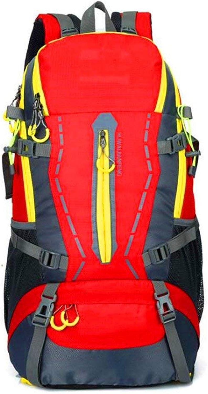 Rucksack wandern Reiserucksack für Radfahren, Klettern, Klettern, Klettern, Camping Camping Camping Rucksäcke, Männer und Frauen 60L B07PQ3QBT9  Bestätigungsfeedback 54a499