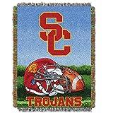 USC Trojans 'Home Field Advantage' Woven Tapestry Throw Blanket, 48' x 60'