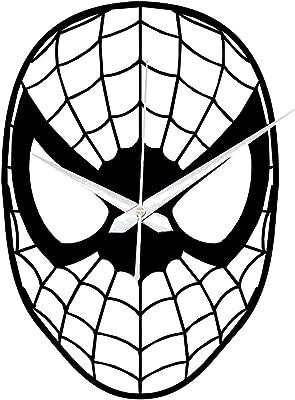 Zuaad Pvt Ltd -The Art Arcade Designer Spider Man Wooden Wall Clock (12 Inch)
