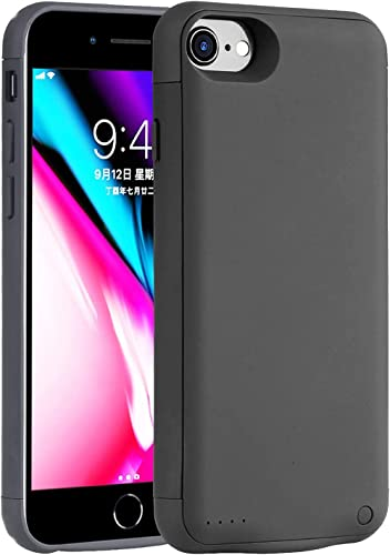 Battery Case for iPhone 8/7/6s/6/SE 2020,7000mAh Ultra Slim iPhone Charging Case Full Protection Portable Rechargeabl...