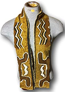 African Mud Cloth Scarf/Stole Style