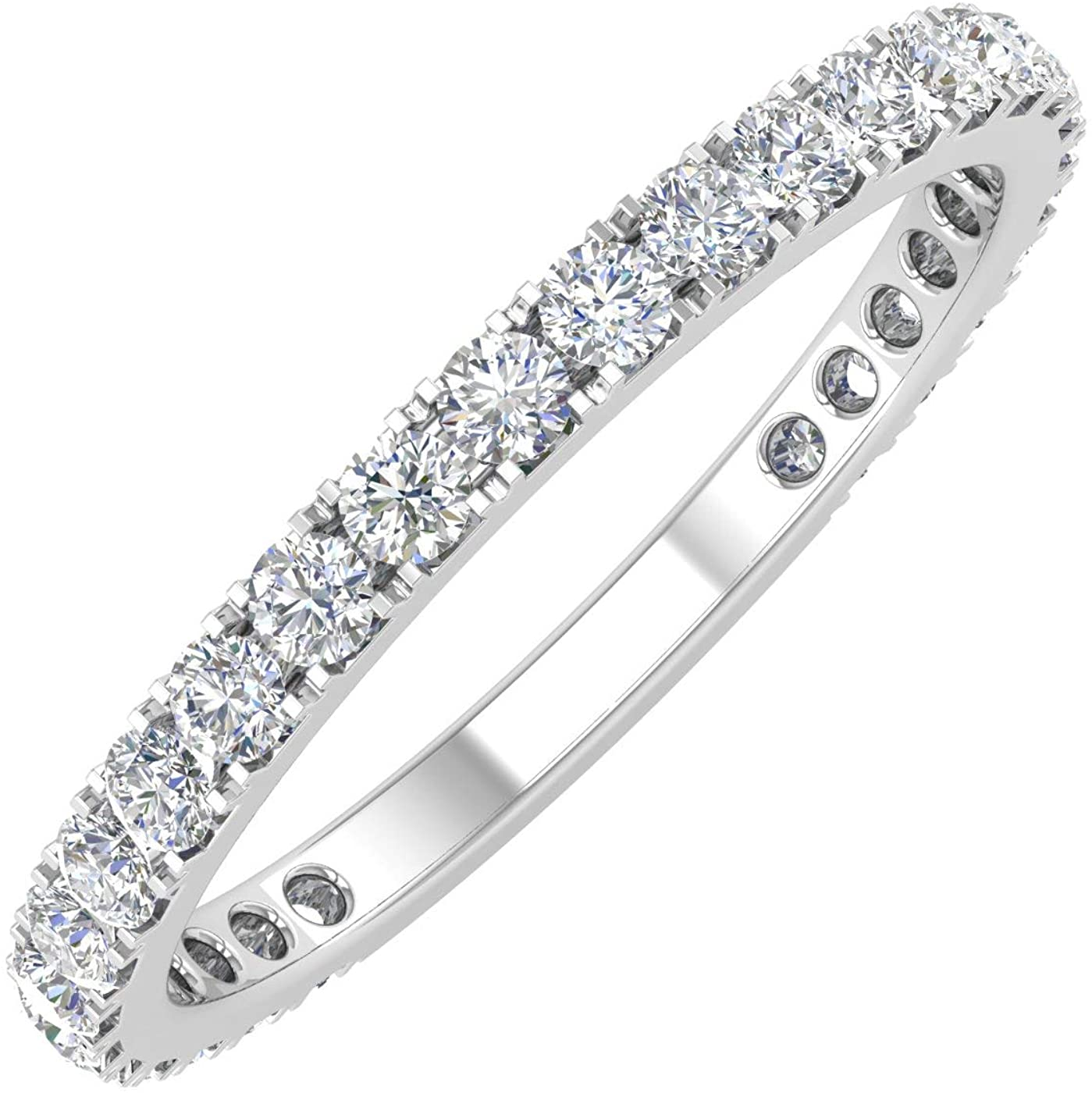 New sales 1 Cheap mail order shopping 2 Carat Diamond 3 4 Wedding Eternity in Band Gold 10k