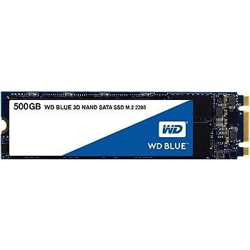 Western Digital WDS500G2B0B WD Blue 500GB 3D NAND Internal SSD M.2 SATA