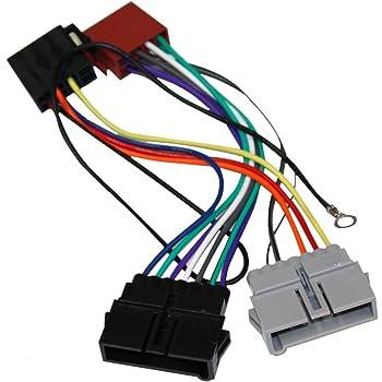 Conector iso universal para instalar radios en Chrysler Dodge y Jeep. ISO-CHY.1990