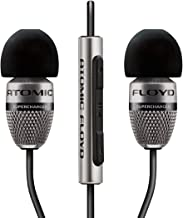 Atomic Floyd SuperDarts Titanium +Remote Noise Isolating Hi-Res In-Ear Headphone