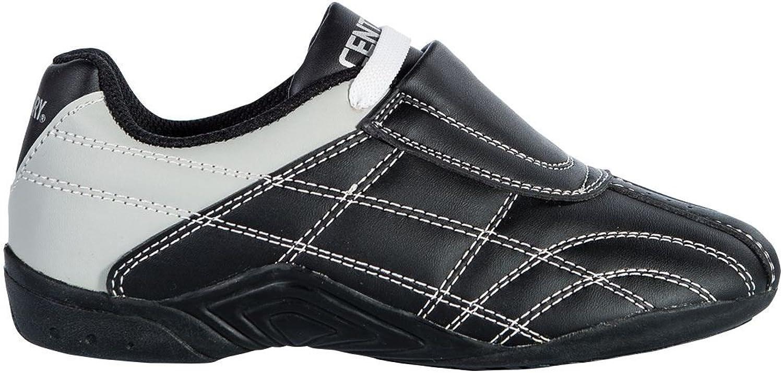 Century Mens Lightfoot Martial Arts shoes 070300010015, Black, Size 1.5