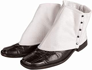 Forum Novelties Men's Roaring 20's Gangster Spats Costume Accessory