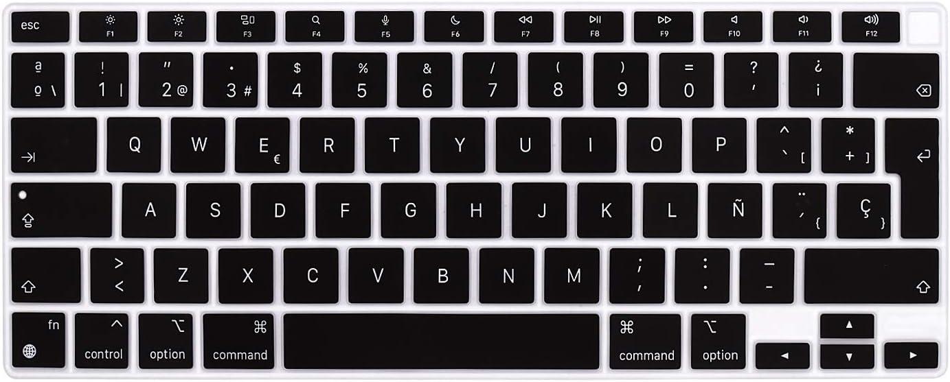 Protector de teclado MacBook Air 13A2337 español