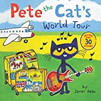 Pete the Cat's World Tour: Includes Over 30 Stickers!