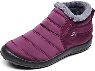 The Best Womens Waterproof Winter Boots No-Slip Light Weight