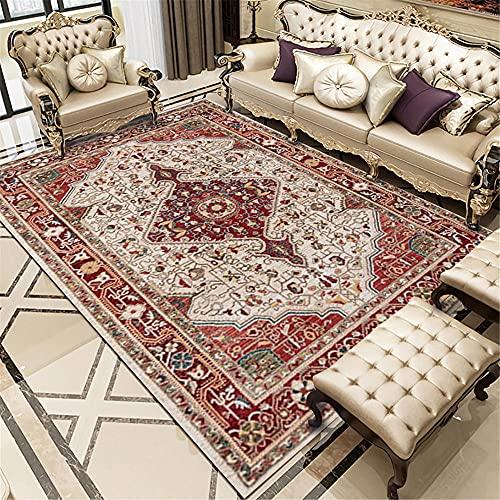 Kunsen Alfombra recibidor alfombras de Gateo La Resistencia al Desgaste Rectangular de la Alfombra del Dormitorio no se Cae Alfombra meditacion 140x200cm 4ft 7.1' X6ft 6.7'