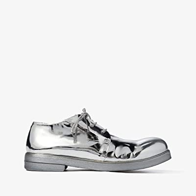 Marsell Zucca Zeppa Round Toe Oxford (Silver) Women
