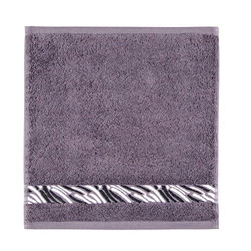 Frottana Shadow Essuie-Main 30 x 30 cm en 100% Coton, Stone