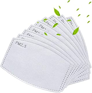 50PCS Activated Carbon Filter Replaceable Anti Haze Filter Paper
