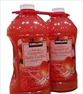 KIRKLAND (カークランド) シグネチャー グレープフルーツジュース 50%果汁入り 2.84L×2