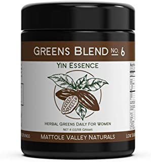 Vegan Yin Essence for Women - Finest Adaptogenic Supplement with Ashwagandha, Red Maca, Raw Cacao - Natural...
