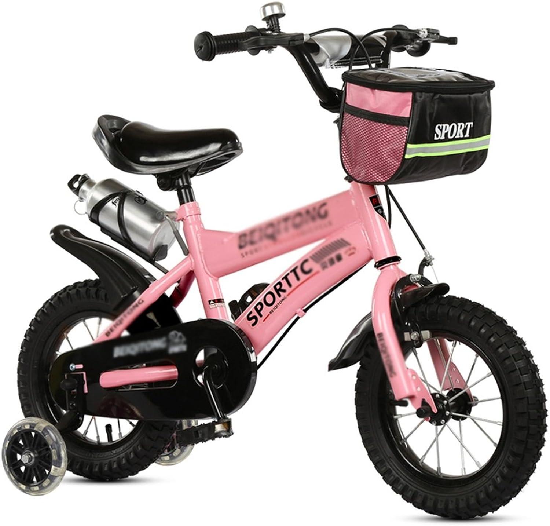 Kinderfahrrad DWW Kinder Fahrrad Kohlenstoffstahl Stahl Einstellbarer Sitz Rutschfeste dmpfung Outdoor Baby reiten Balance