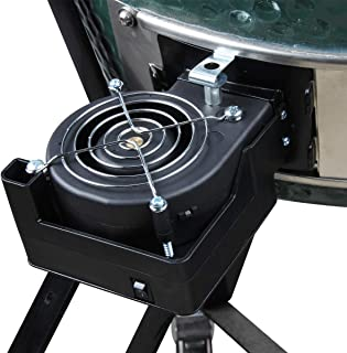 DC6V BBQ Charcoal Starter Fire Starter Air Blower Green Egg Accessories Cooking Blower Green Egg Grill Fan For Kamado Joe Big Green Egg and Other Charcoal Stove Shorten The Time of Ignite The Charcoal