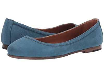 Frye Carson Ballet (Sea Blue) Women