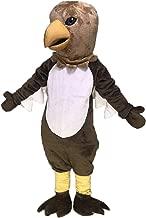 rushopn Brown Tail Hawk Mascot Costume
