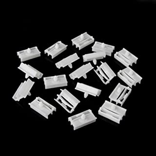 ZHUOTOP White 20 Pieces Molding Exterior Side Sill Skirt Trim Clip Fasteners For BMW E36 E46