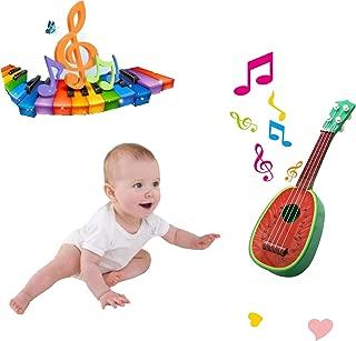 Greatstar Children Guitar,The Cute Mini Fruit Ukulele Toy For Baby's Music Dream (Watermelon)