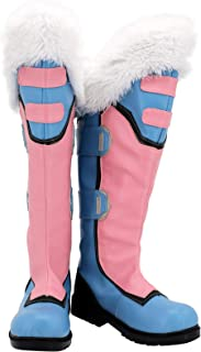 Allten Womens OW Mei Halloween High Boots Shoes Cosplay Costume