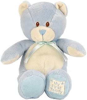Toys R Us Animal Alley 13 inch My First Teddy - Blue