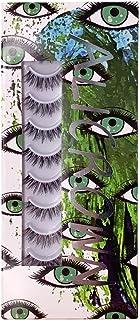 ALICROWN GREEN Natural Mutipack False Eyelashes 10 Pairs Fake Lashes