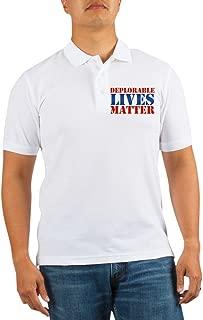 CafePress - Deplorable Lives Matter Golf Shirt - Golf Shirt, Pique Knit Golf Polo