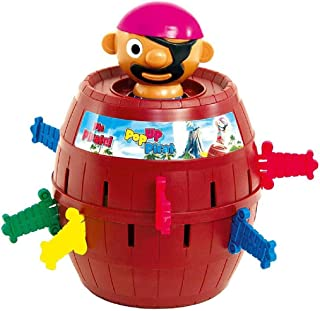 Emob® Crazy Spin Press Pop Up Pirate Thrilling Game Toy for Kids