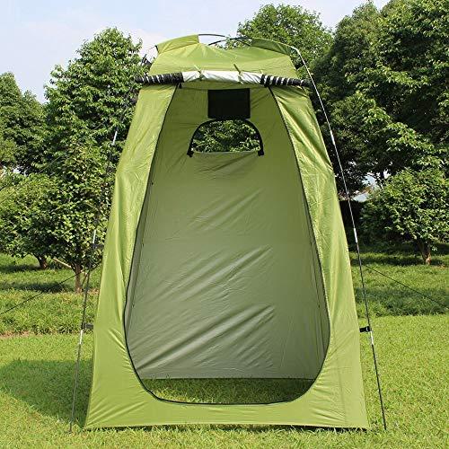 Roeam Camping Duschzelt,Pop Up Campingtoilette Toilettenzelt Umkleidezelt Outdoor Mobile Dusche Tent 120x120x180 cm