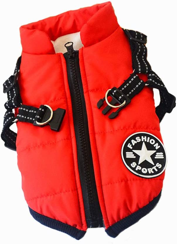 PetBoBo Dog Special price for a limited time Jacket with Harness Cold Warm Our shop most popular Coat Pet Weather
