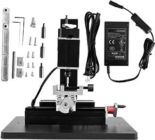 Mini Milling Lathe, 60W 12000RPM Metal Lathe DIY Miniature Machine Mill 100-240V