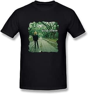 Loyd D Men's Casual Gregg Allman Low Country Blues Tshirt Black L