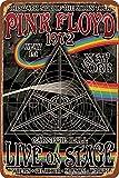 HONGXIN 1972 Pink Floyd at Carnegie Hall Metallschild
