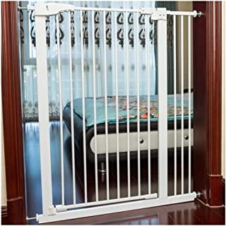 Telescopic Stairway Fence Baby Gates Extra Wide Security Gate Bar Children's Kitchen Fence Pet Fence Free Punching Self Cl...