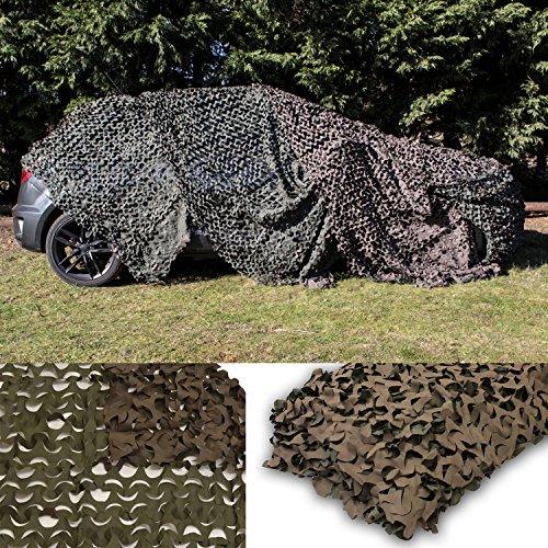 Niehawk Jagd Tarnnetz 4x1,5m Camouflage Grün/Braun