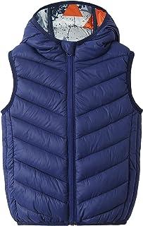 AIEOE chaqueta de plumón sin mangas chaleco para niños otoño e invierno chaqueta sin mangas abrigos niña niño cálido cómodo