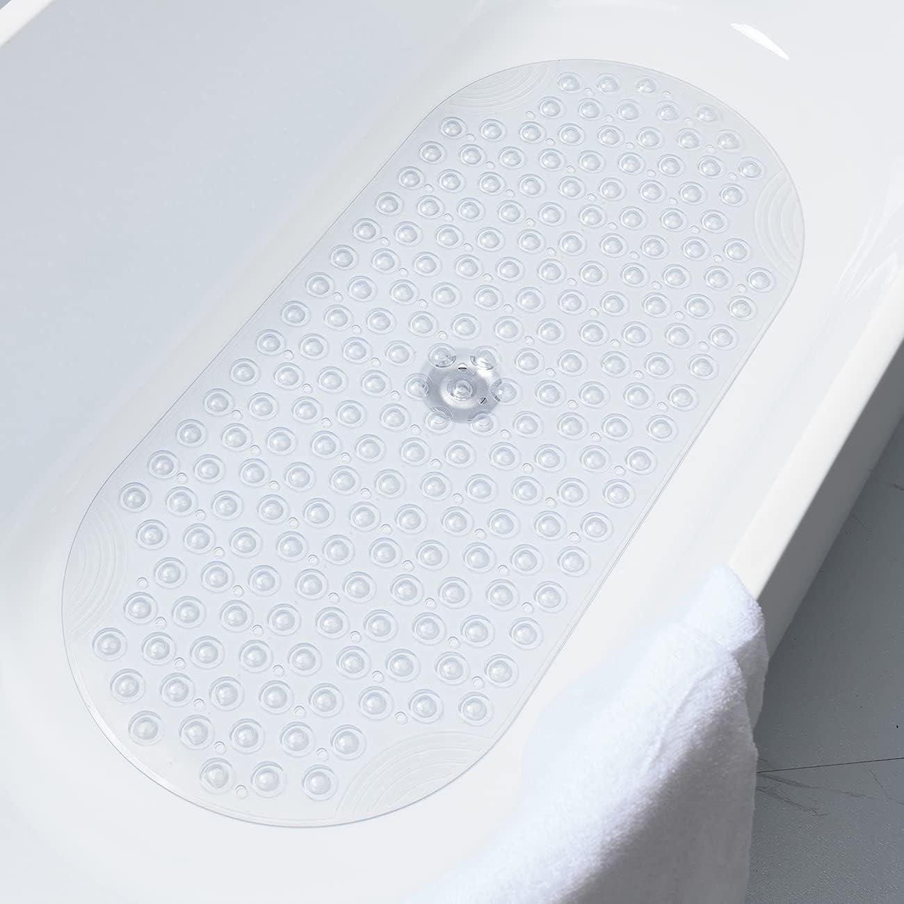 Popular MEGLORYA Transparent Bathtub Mat Oval Cu Weekly update with Shower Suction