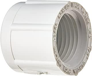 30165 PVC Pressure Pipe Cap, White PVC, 1/2-In. - Quantity 10