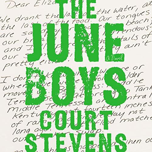 The June Boys audiobook cover art